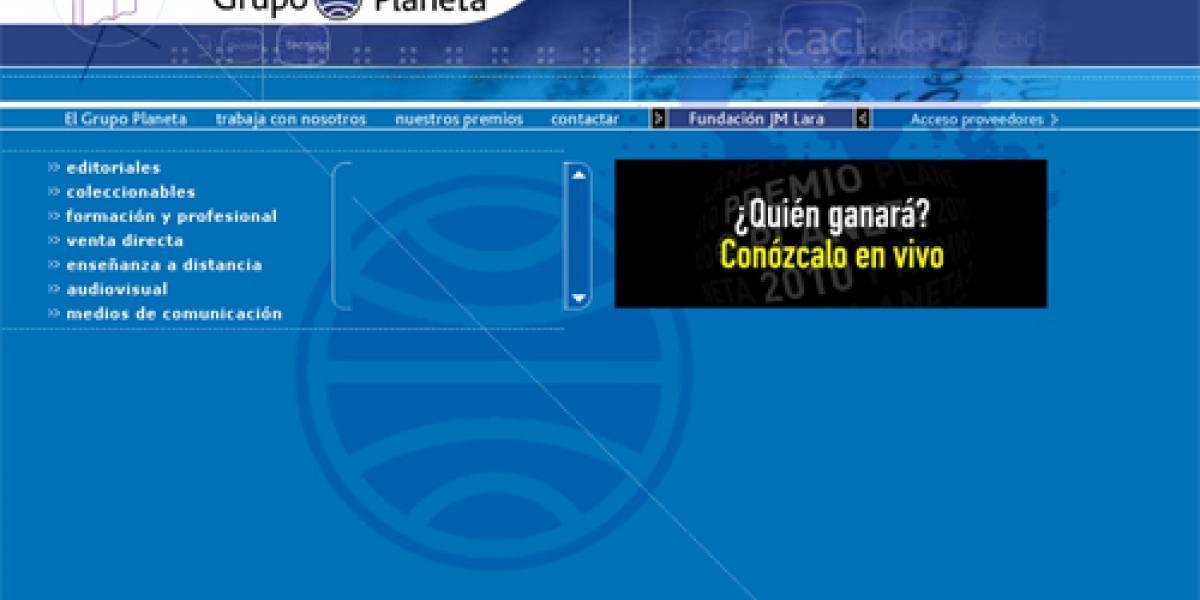 Editorial Planeta pide el cierre de webs de descargas de libros