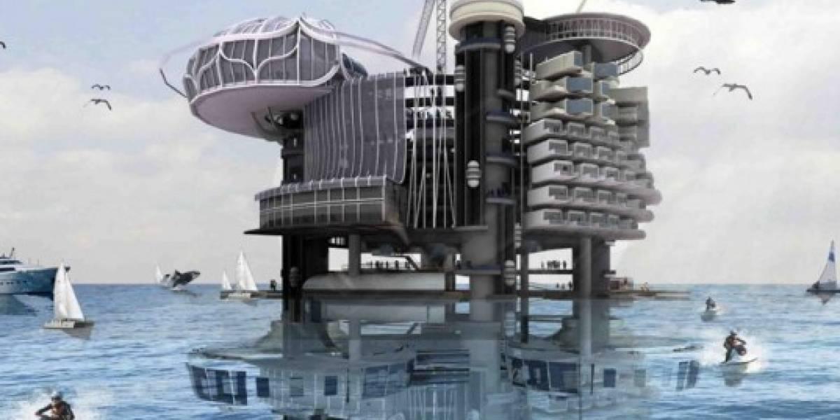 Plataformas petroleras en desuso podrán convertirse en villas acuáticas autosustentables