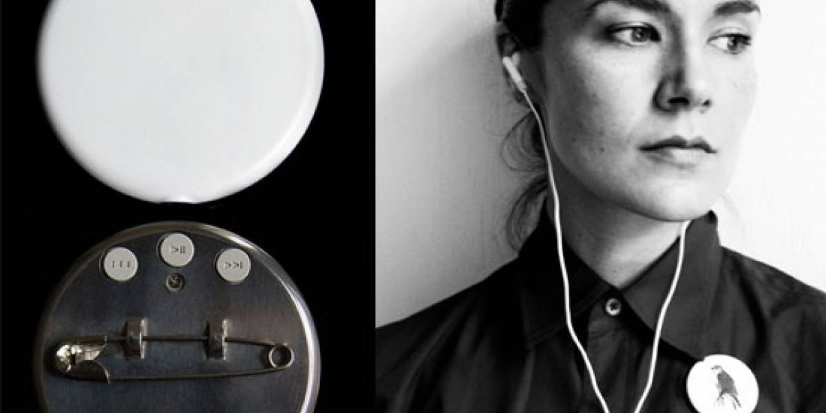 Playbutton convierte a las chapitas en reproductores de MP3