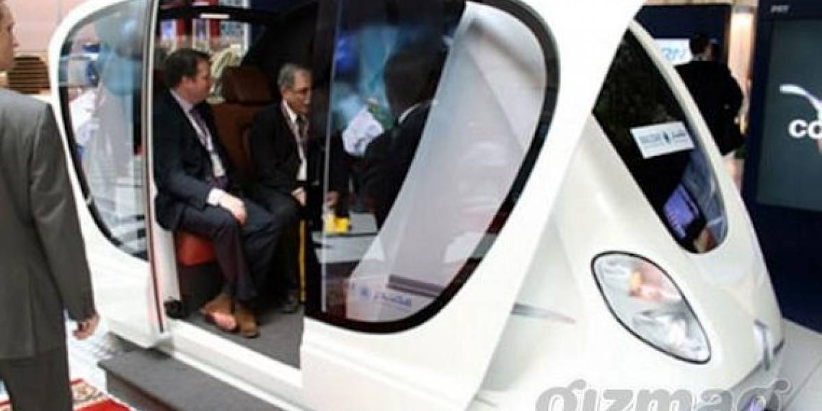 Podcars: Solución al transporte urbano en los Emiratos Árabes
