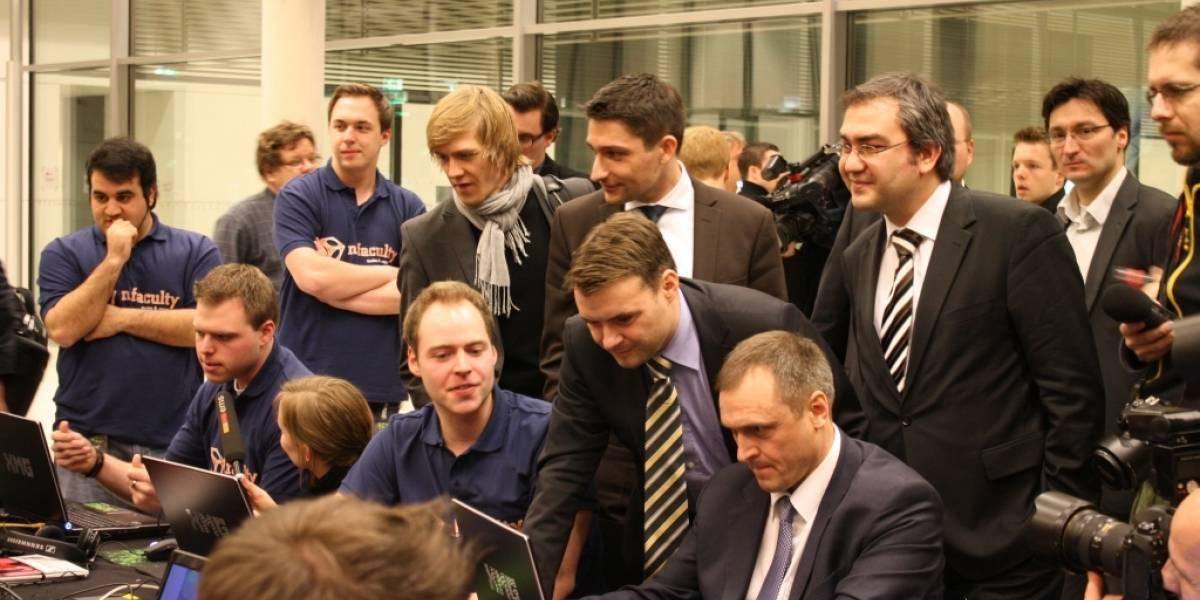 """Políticos alemanes hacen un """"tarreo"""" en el Reichstag"""