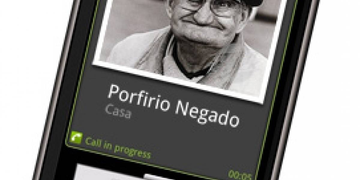 Porfirio Negado: Un Celular sin teclas
