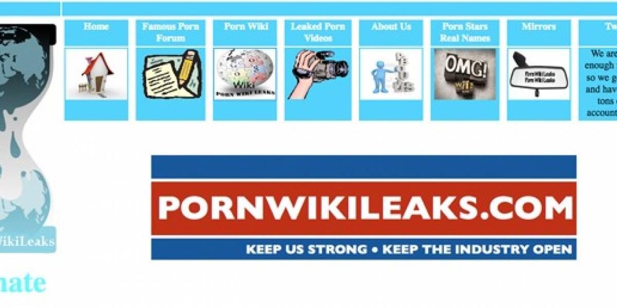 Pornwikileaks divulga nombres reales de estrellas porno