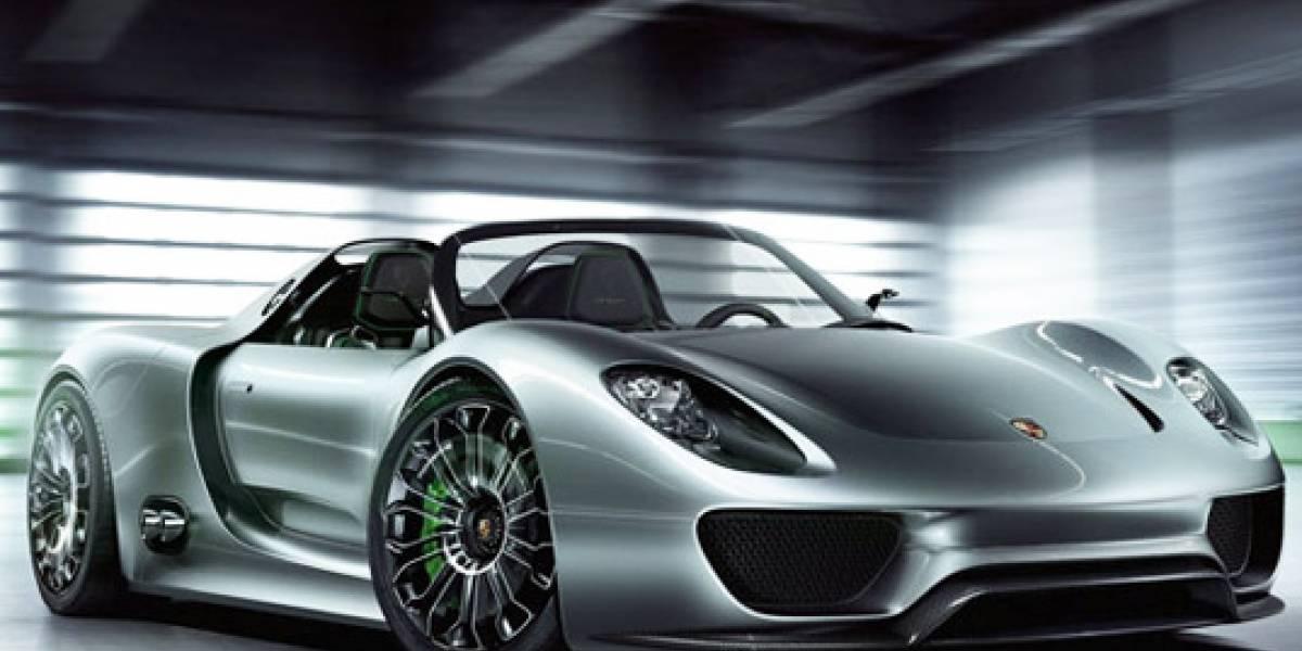 Porsche lanza su primer deportivo Spyder híbrido