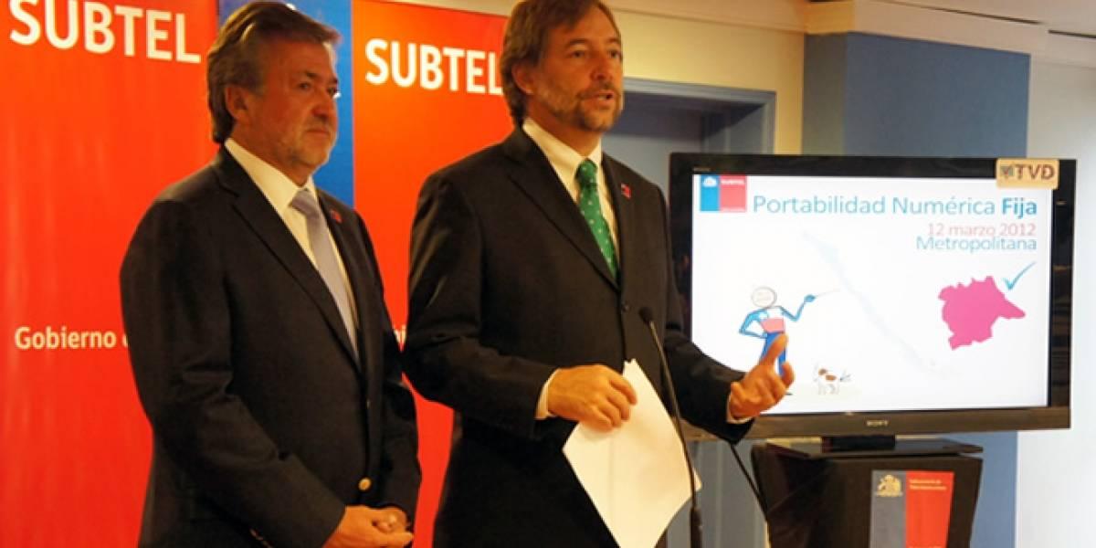 Chile: Comenzó la portabilidad para telefonía fija en la Región Metropolitana