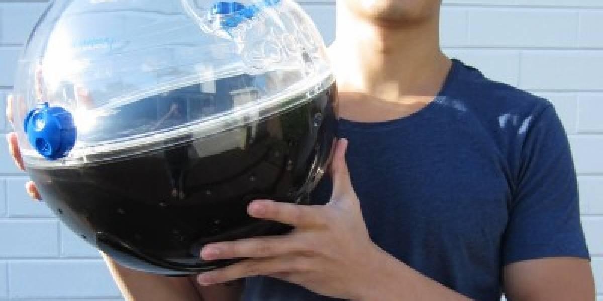 Solarball: Esfera solar que ayuda a purificar el agua de una forma simple