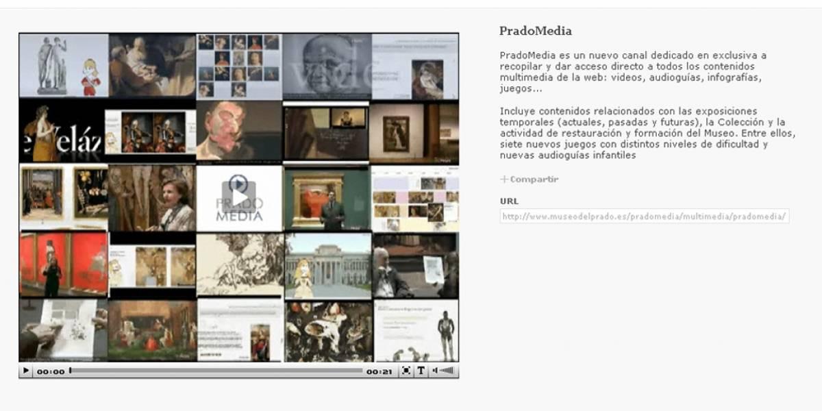 Nace PradoMedia: el canal multimedia del Museo del Prado
