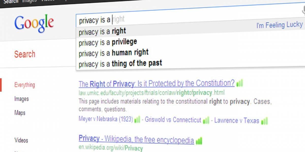 Europa pide a Google que aplace los cambios de privacidad