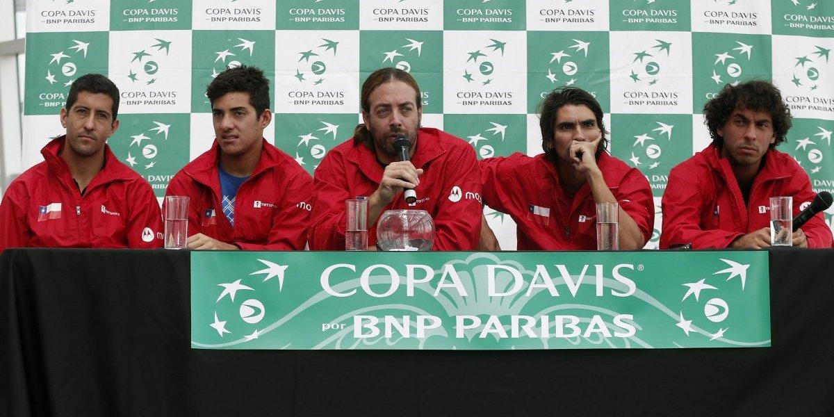 Chile lamenta nueva baja para la serie de Copa Davis frente a Ecuador
