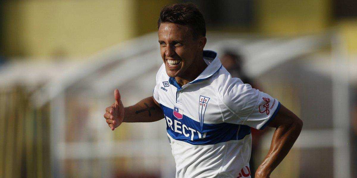 """Diego Buonanotte agradece la """"paciencia"""" que le tendrá Beñat San José en la UC"""