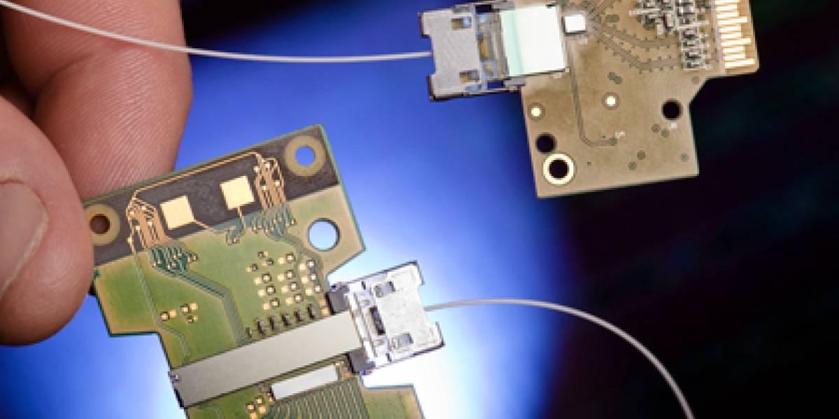 Tecnología de Intel basada en la fotónica de silicio permitirá descargar una película HD en un segundo
