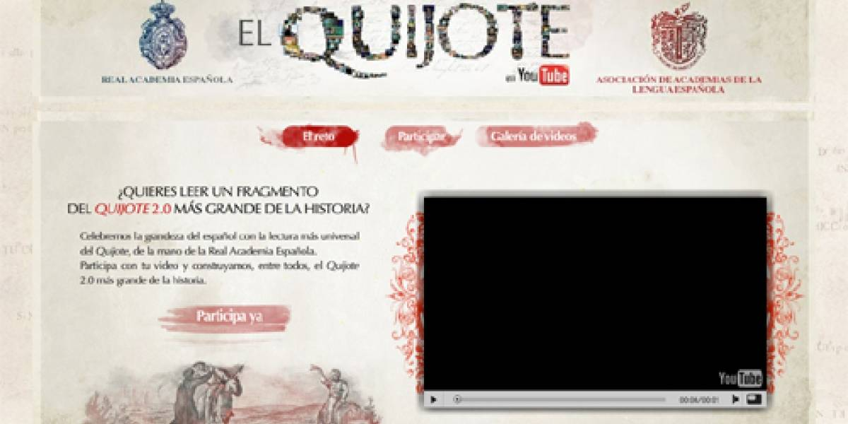 El Quijote: de los molinos de viento a una aventura 2.0 en YouTube