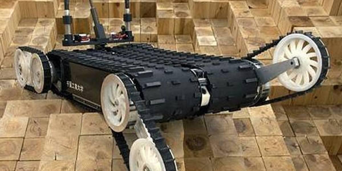 Robots buscan supervivientes en Japón
