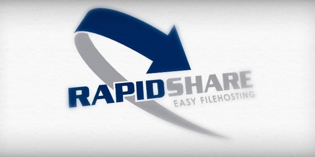 RapidShare confirma que las limitaciones de velocidad son para alejar a los piratas