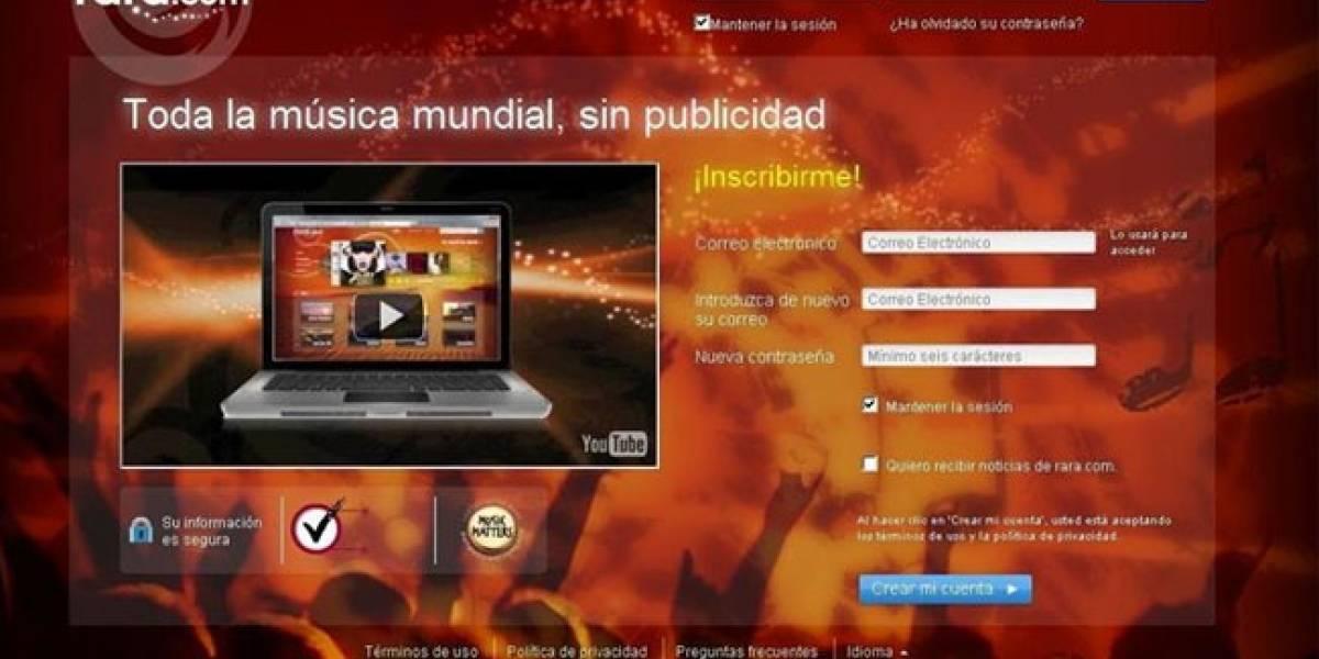 Rara.com llega a España para plantar cara a Spotify