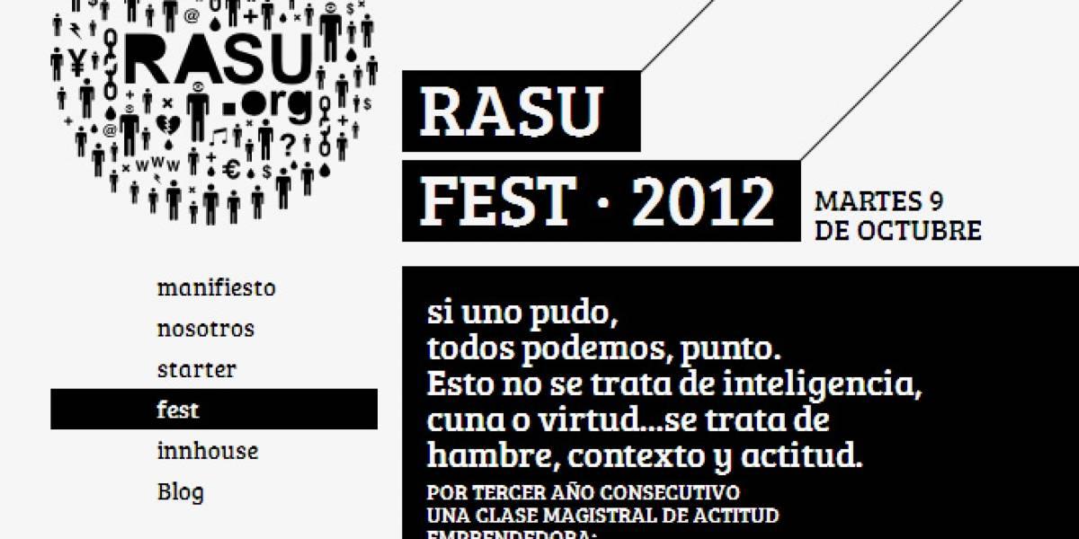 RASU Fest: 14 emprendimientos cuentan su historia en Chile