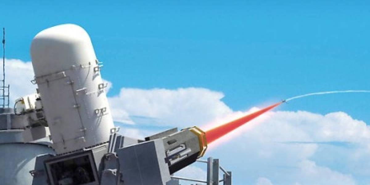 Nuevo láser anti aéreo fue presentado en Inglaterra