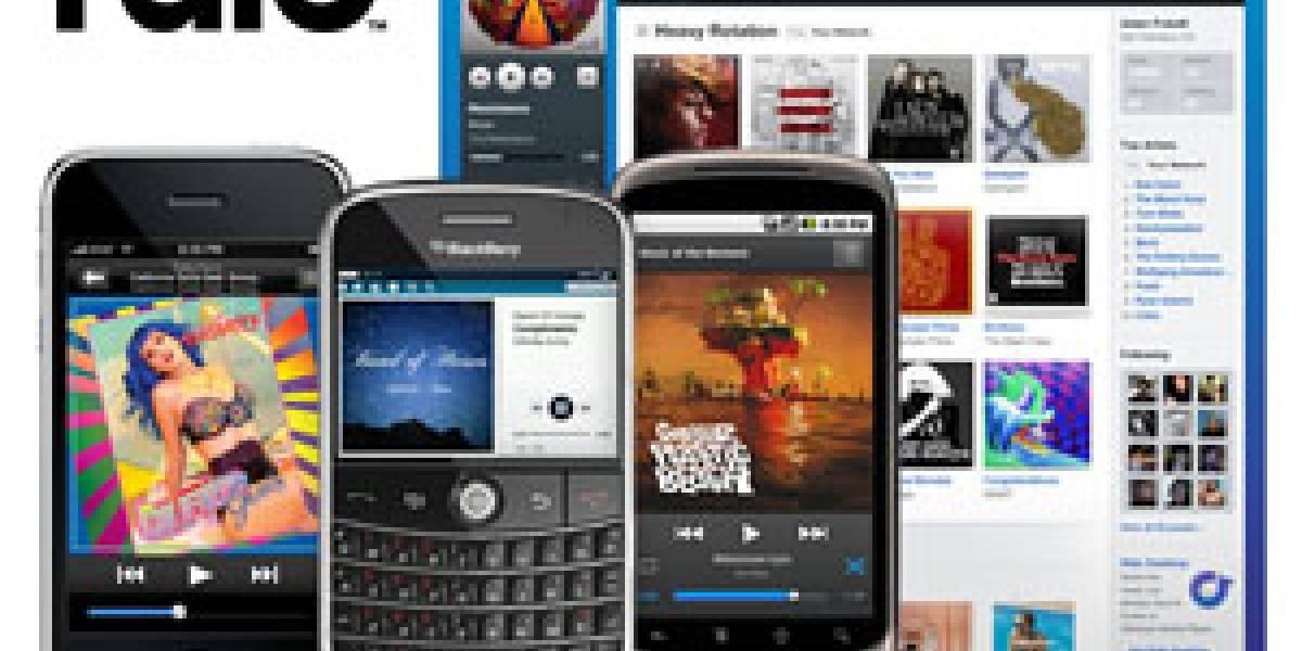 Rdio: Los fundadores de KaZaA y Skype lanzan un servicio de música en la nube