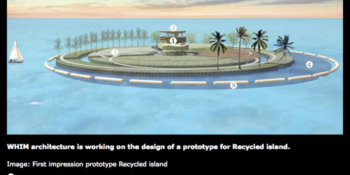 """Isla de desechos plásticos oceánicos cambia el concepto de """"vivir en un basural"""""""