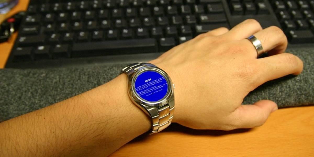 El rumoreado reloj inteligente de Microsoft vendría con Windows 8