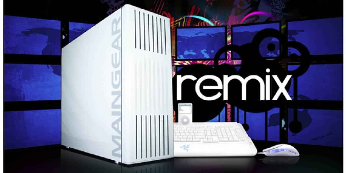 Maingear presenta a Remix con procesador Core i7