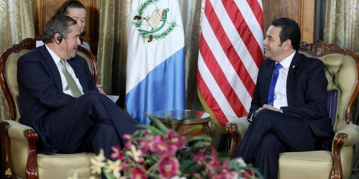 EE. UU. pide compromiso a Guatemala en lucha anticorrupción para atraer inversiones