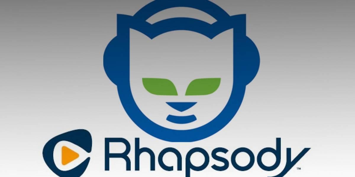 Rhapsody compró Napster, busca competir con Spotify en Europa