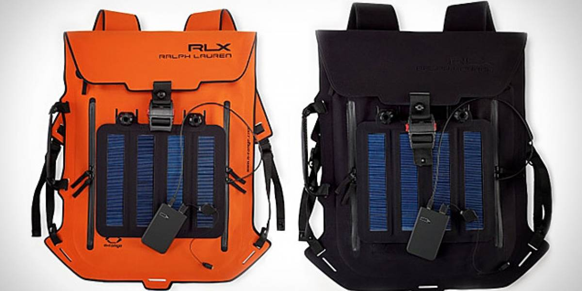 Estilosa mochila solar de Ralph Lauren