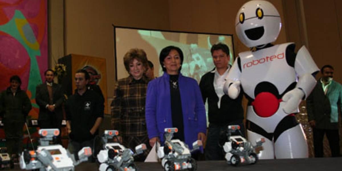 Clases de robótica en escuelas primarias públicas de México