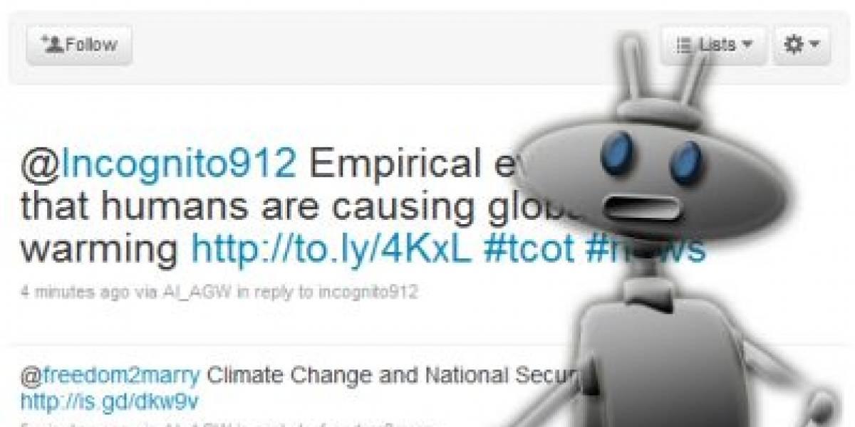 Inventan Robot que puede discutir por Twitter