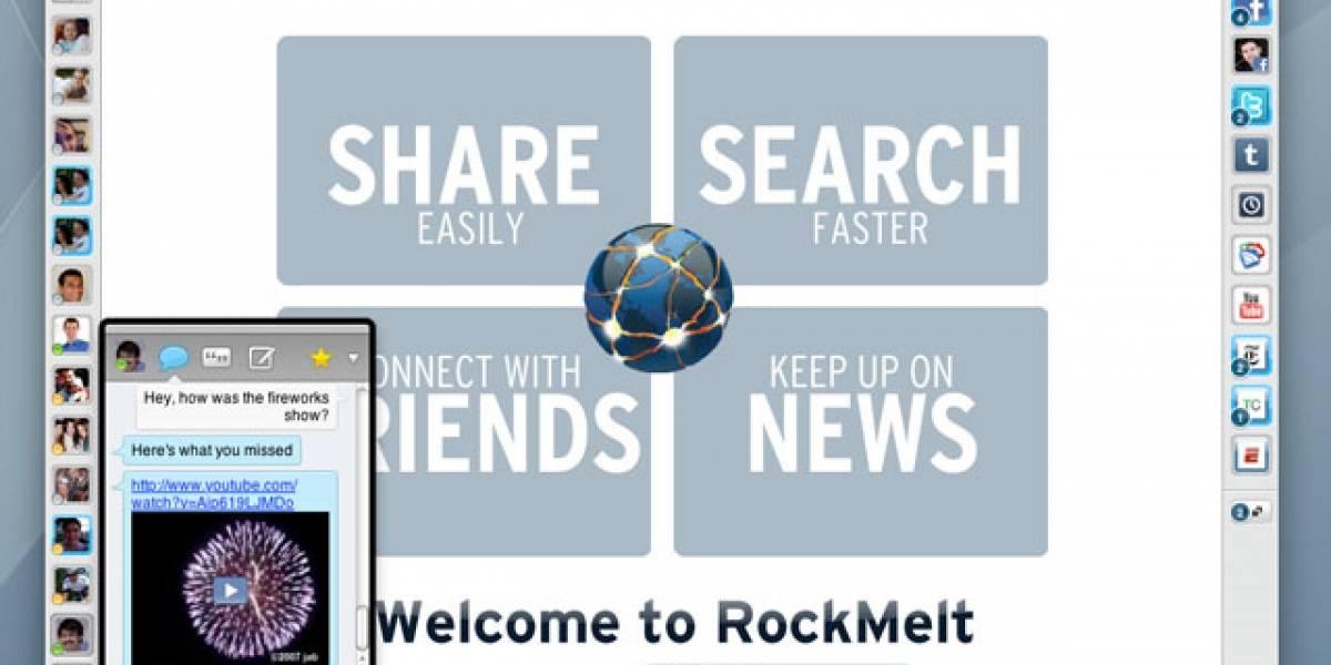 RockMelt se prepara para lanzar su beta 2 esta semana