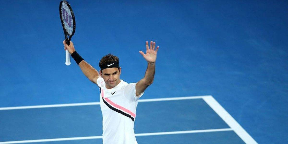 Federer avanza a semifinales de Australia, donde enfrentará al sorprendente Chung
