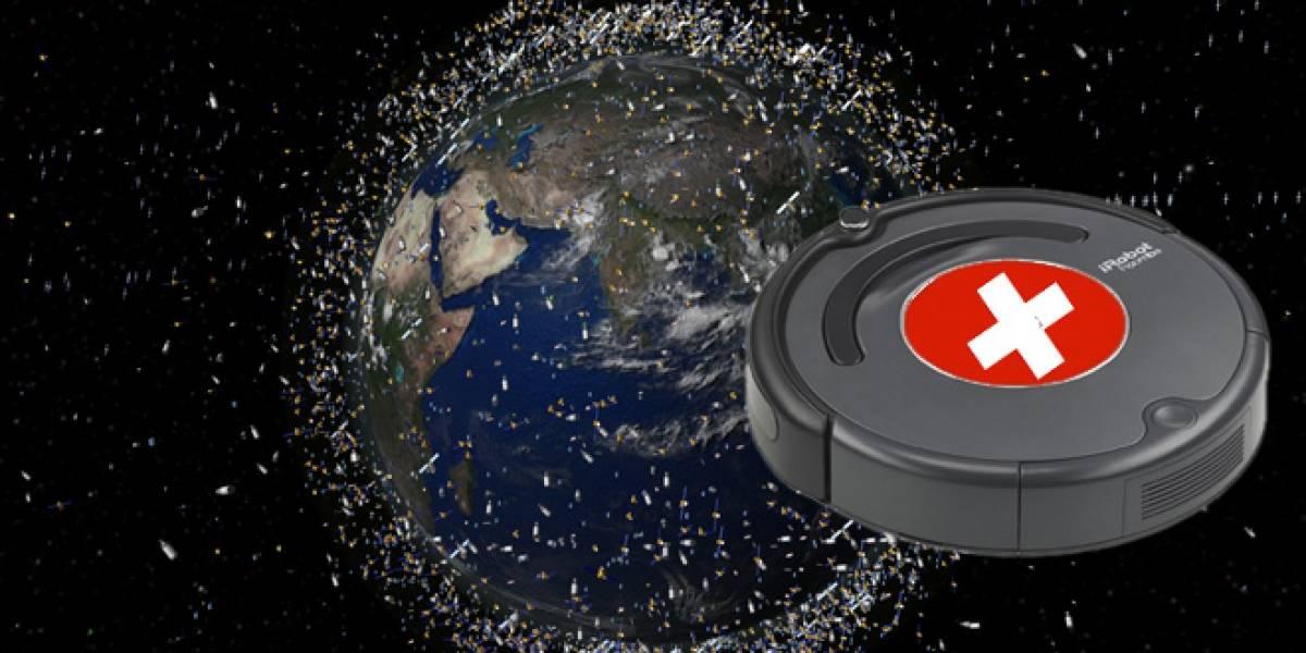 """Satélites """"conserjes"""" suizos limpiarán la basura espacial"""