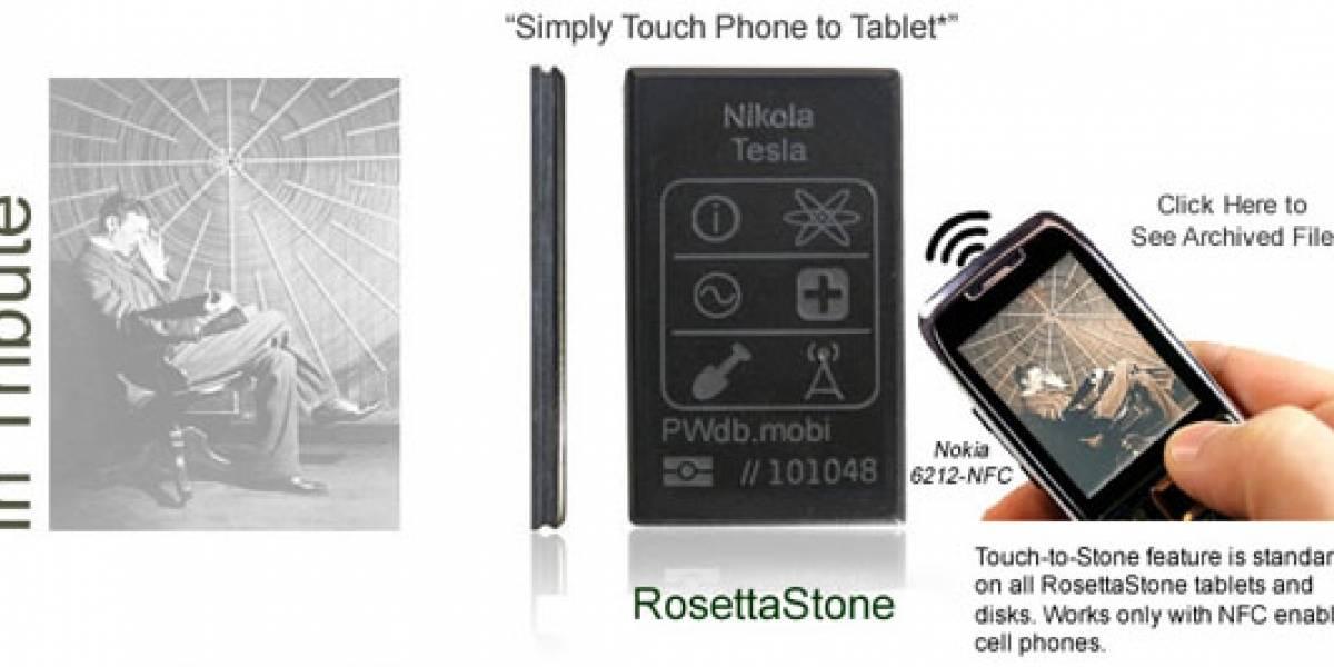 RosettaStone: Una lápida para preservar tu legado geek