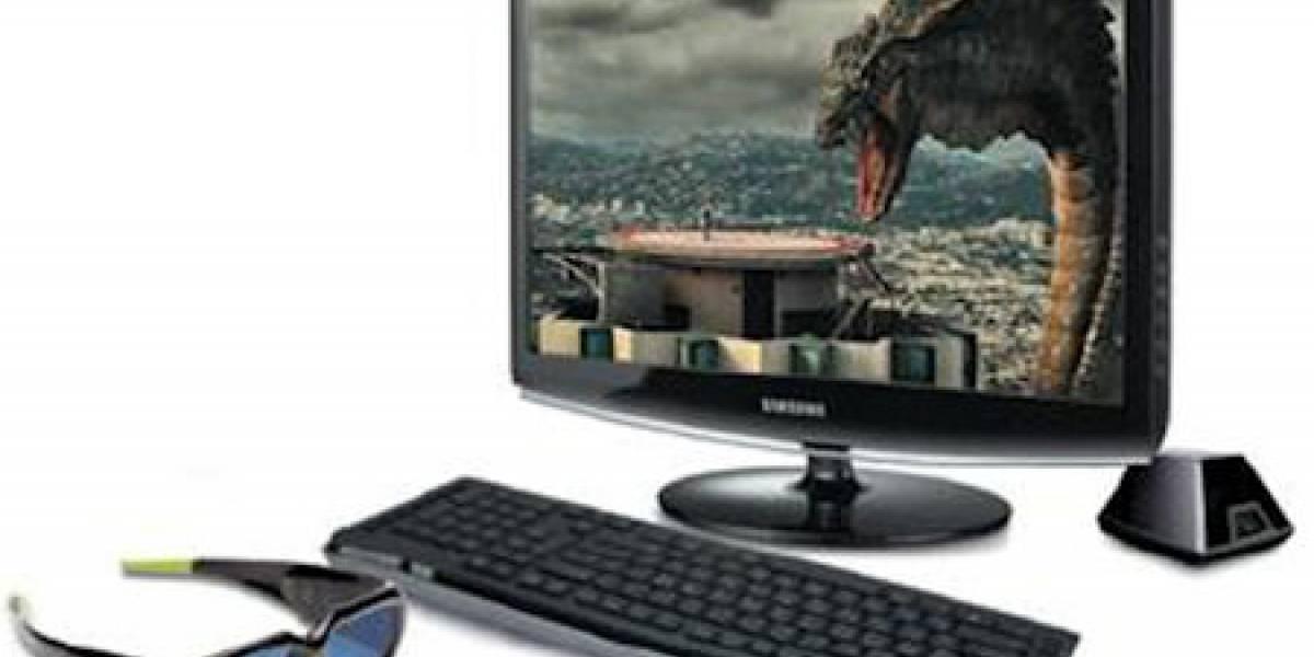 CES09: Monitor 3D de Samsung usa tecnología NVIDIA