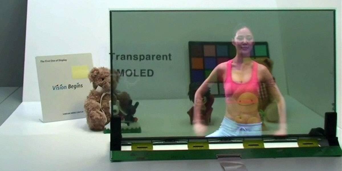 Samsung demuestra sus nuevas pantallas AMOLED