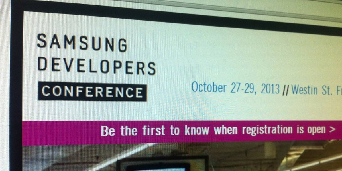 Samsung anuncia su primera conferencia para desarrolladores