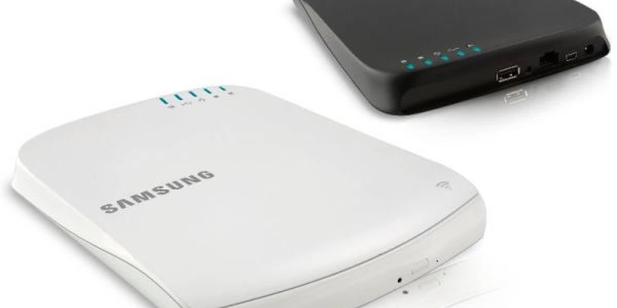 CES 2012: Samsung presenta un SMART Hub, un quemador de DVD que transmite contenidos sobre WiFI