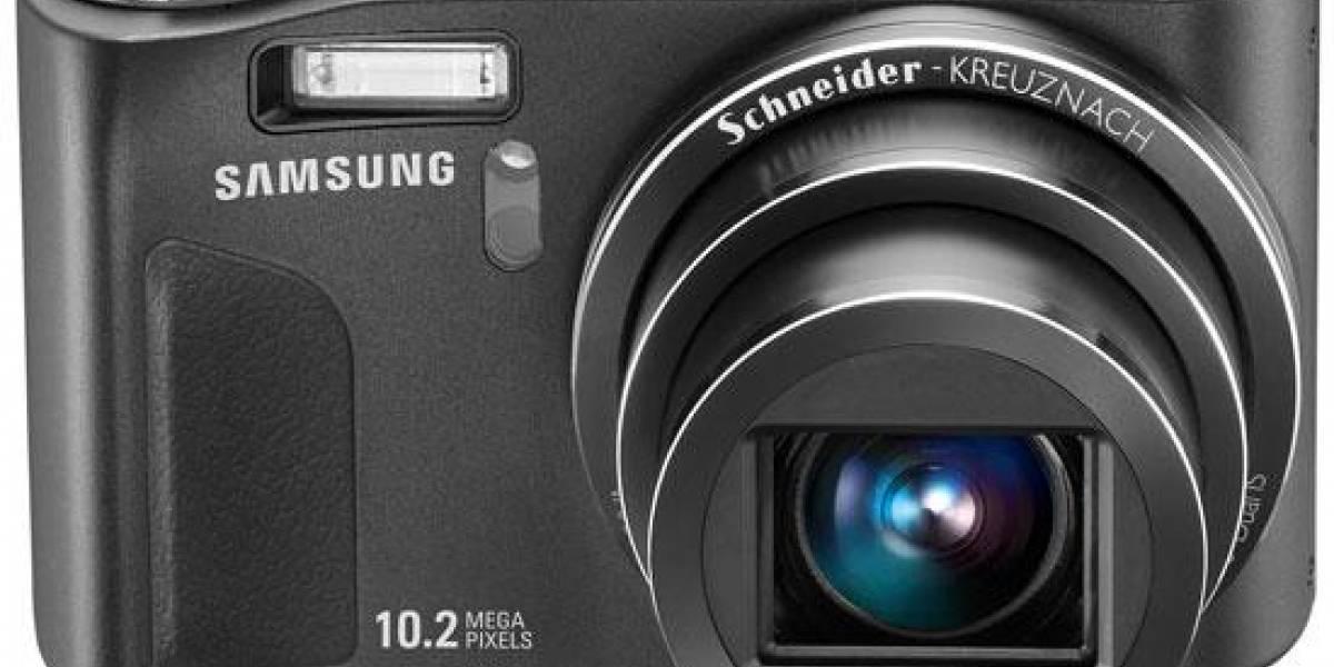 La cámara digital Samsung WB500 y su zoom óptico de 10x