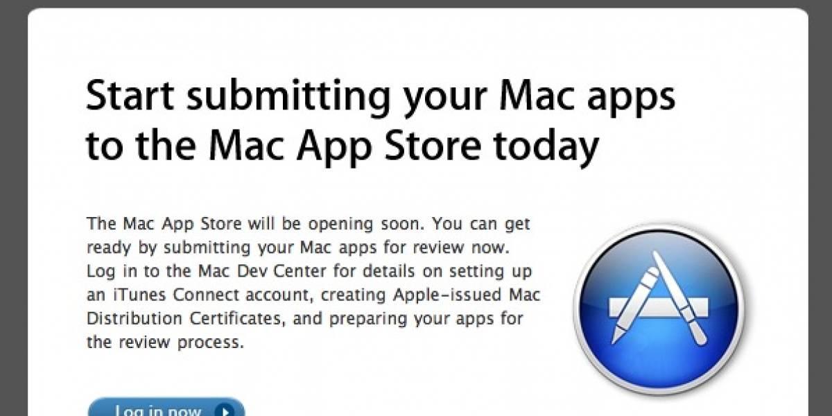 Mac App Store abierta para los desarrolladores