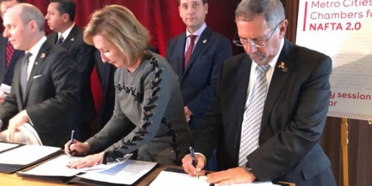 Empresarios de México, EU y Canadá se unen y piden continuidad del TLCAN