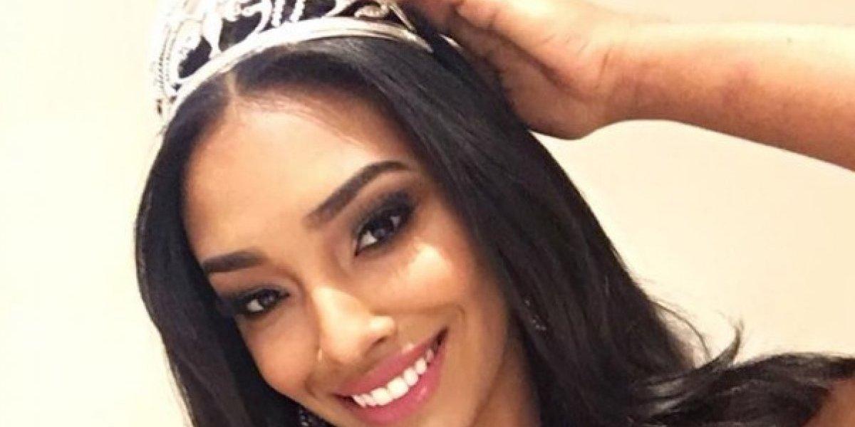 Heilymar Rosario se despide de la corona de Miss Intercontinental 2016