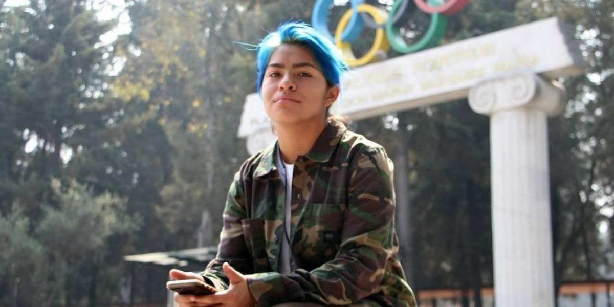 Itzel, la skateboarding mexicana de 17 años que busca ir a Tokio 2020