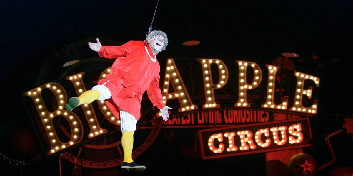 Payaso de Big Apple Circus renuncia por violencia sexual