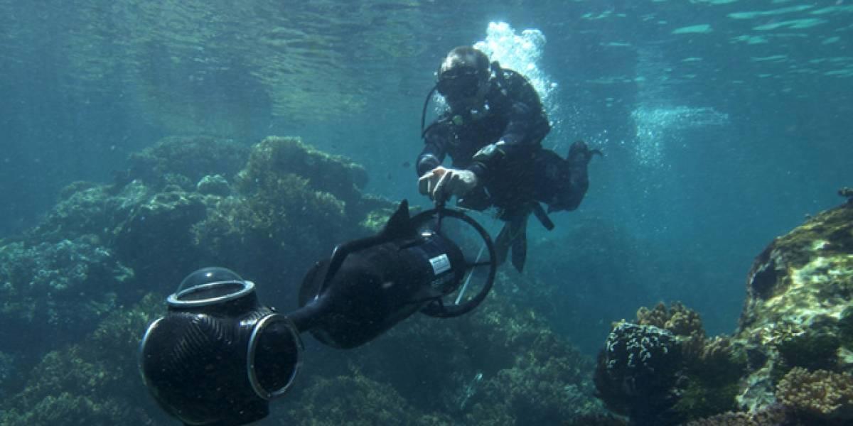 Street View llega al mundo submarino explorando la gran barrera de coral