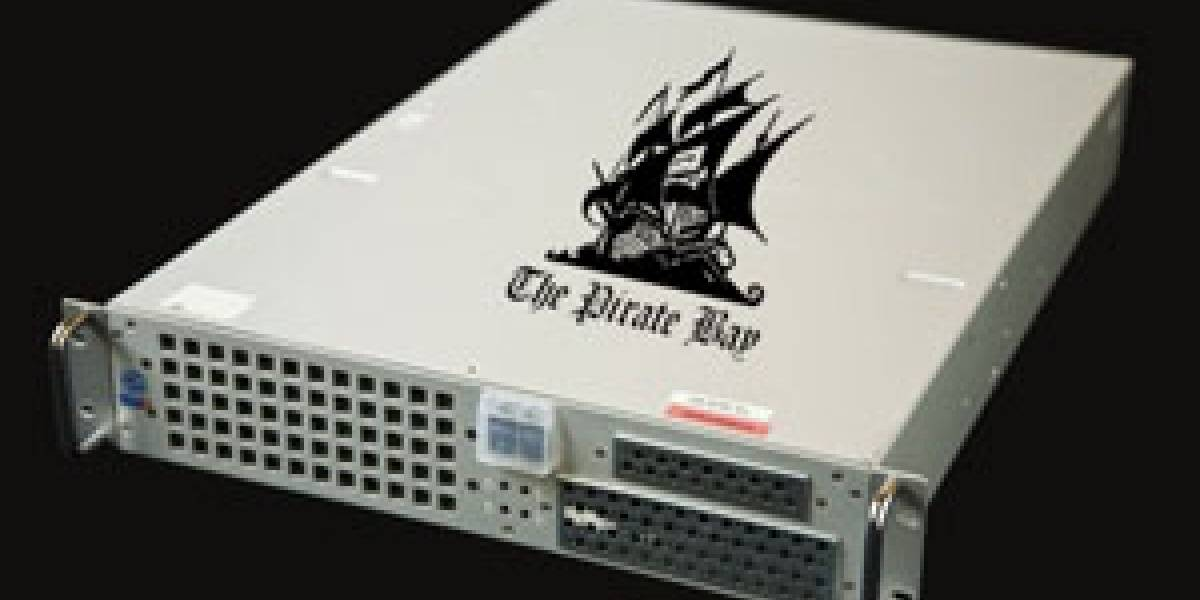 Un servidor de TPB ahora es una pieza de exhibición en un museo