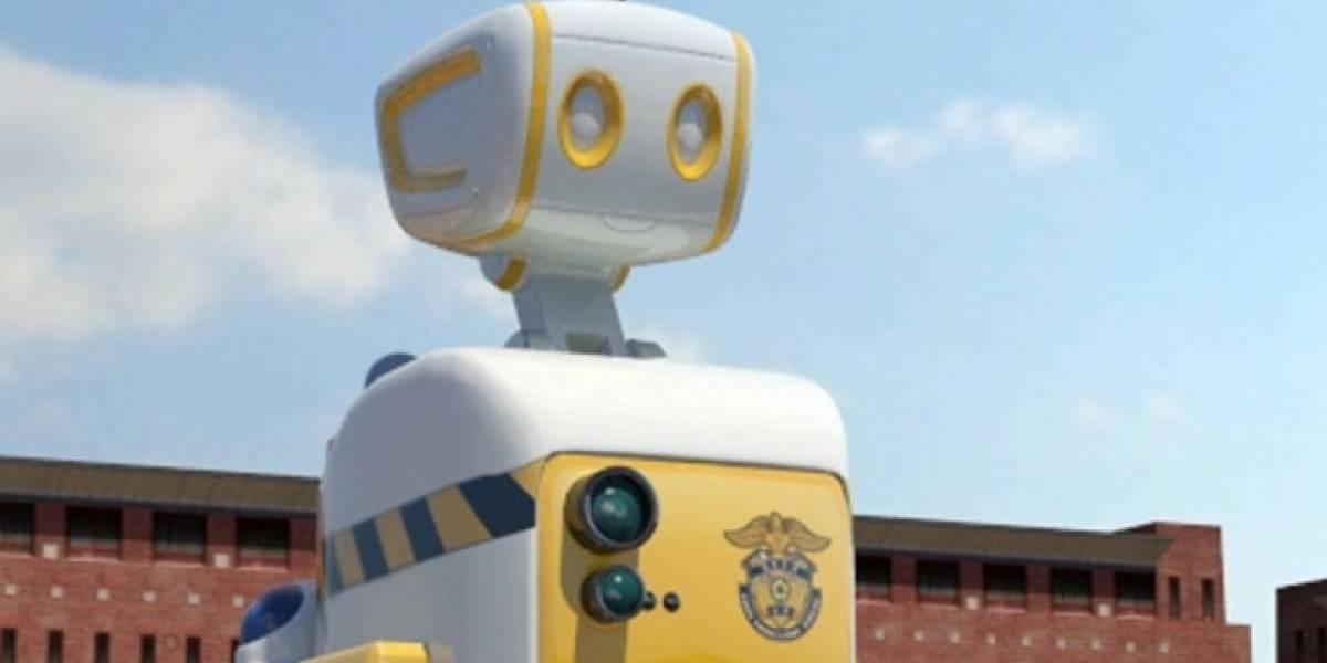 Robots sustituirán a guardias en una prisión de Corea del Sur
