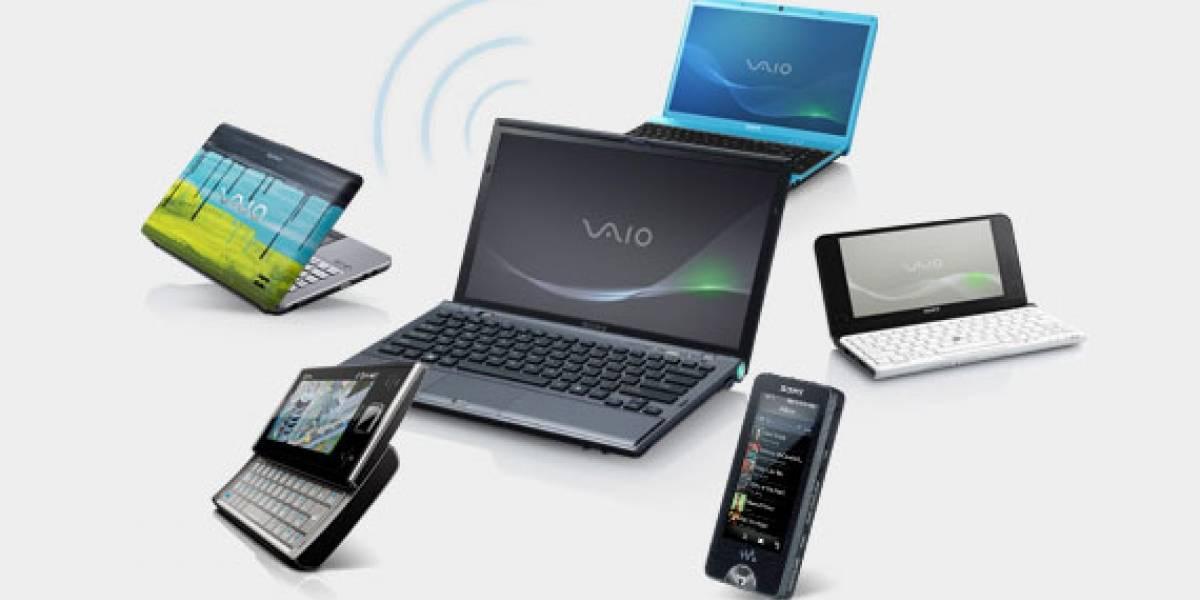 Nuevas laptops Sony VAIO vendrán con una funcionalidad para compartir Internet