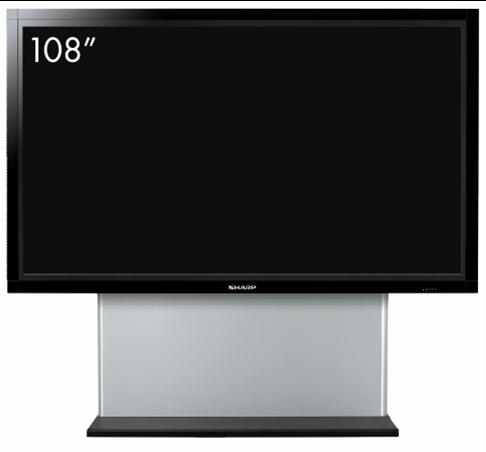 Sharp lanza en México el LCD más grande del mundo