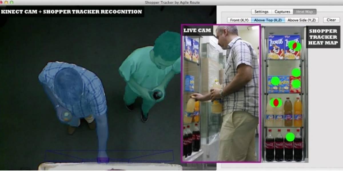 Shopper Tracker: Un Google Analytics del mundo real usando Kinect